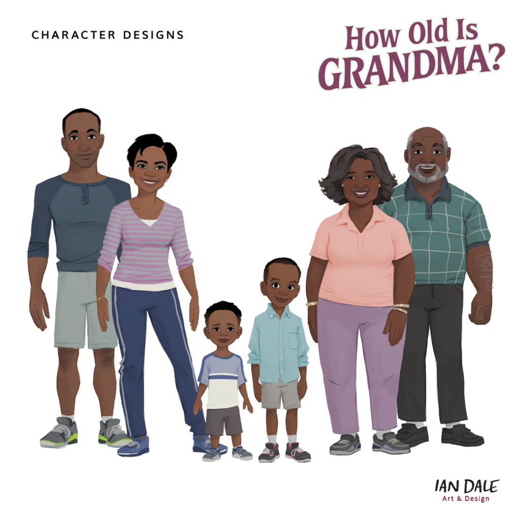 How Old is Grandma? Final Characters
