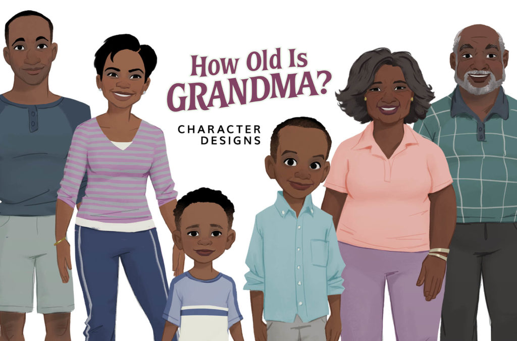 How Old is Grandma? Character Design